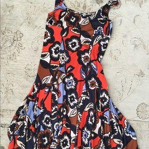 DVF summer dress